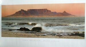 (New) Table Mountain Print South Africa.