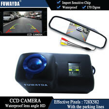 4.3'' Mirror Monitor CCD Reverse Camera for Peugeot 206 207 306 307 308 407