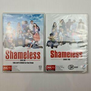 Shameless UK : Series 1 & 2 DVD - Region 4 - TRACKED POST - 1x New 1x Used