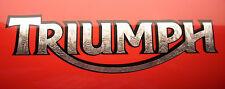 2x Aufkleber Sticker Triumph #0179