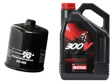 YAMAHA YZF R6 300V 10W40 OIL AND K&N FILTER SERVICE KIT 1998-2006