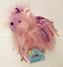 Webkinz RIBBON YORKIE Ganz Pink Puppy Dog Plush NEW with CODE