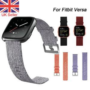 For Fitbit Versa 2 /Versa/ Versa Lite Strap Replacement Woven Fabric Wrist Band