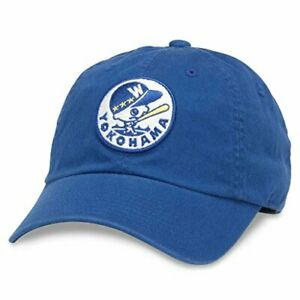 American Needle Yokohama Whales Ballpark Hat Japanese Central League OSFA New
