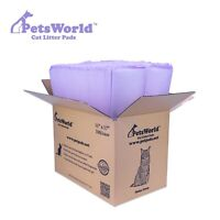 PETSWORLD Cat Pad Refills for Tidy Cats Breeze Litter System, 100 Pads