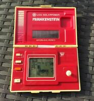 GAME&WATCH BANDAI Frankenstein Solar Power 1982 vintage LCD gioco elettronico
