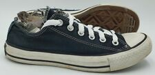 Converse All Star Floral Tongue Low Canvas Trainers 107469F Black UK6/US8/EU39