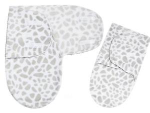 Newborn Baby Boy Girl Swaddle Sack Giraffe Print Swaddling Blanket New Baby Gift