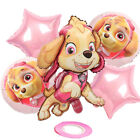 6pcs Paw Patrol Foil Balloons Happy Birthday Kids Party Supplies Decoration Set