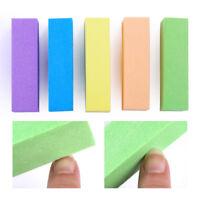 10 Pcs Sanding Sponge Nail Buffers Files Block Grinding Polishing Nails Tools