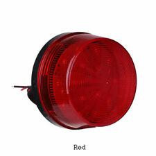 Segnalatore lumininoso rosso lampeggiante 12-48Vac//Dc LOVATO 8LB6GLB4