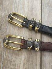 Multi Types Women Pearl Cluster Waist Belt Crystal Buckle Waistband Cincher