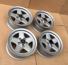 "Melber 7x15"" wheels rims EURO rare Mercedes Benz W123 W114 W115 W107 R107 W113"