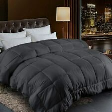 Goose Down Alternative Reversible Comforter-Ultra Soft-All Season-Hypoallergenic