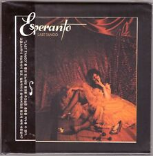 ESPERANTO Last Tango CD Prog Rock w/2 Bonus Tracks—Mini LP Sleeve, Obi, Gold CD