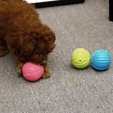 Dog Cats Play Rubber Balls Throw Pet Puppy Playing Fetch Chew Bite Toys