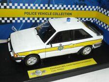 Ford Escort Xr3i Mkiii Mk3 1985 Cambridgeshire Constabulary Police 1/18 Model ic