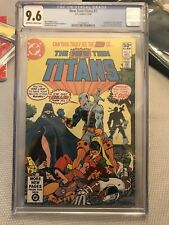 THE NEW TEEN TITANS #2 CGC 9.6 KEY  1st appearance of DEATHSTROKE