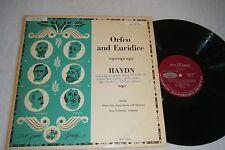 HAYDN Orfeo & Euridice LP SWAROWSKY Vienna State 1950s Opera Society M2030-OP18