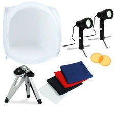 "30"" Photo Photography Tent Shooting Box Softbox Studio Kit Set with LED Tripod"