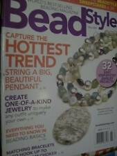 Bead Style May 2007 Magazine -Pendant/Beading Basics/Choker/Toggle Clasp Wire Wr
