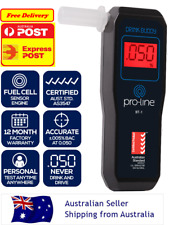PROLINE Drink Buddy Australian Standard AS3547 Fuel Cell Personal Breathalyser