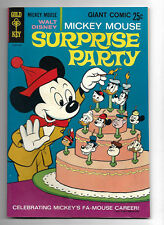 Mickey Mouse Surprise Party #1.....Gold Key 1969.....VF+ 8.5
