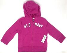 Toddler Girl's Pink Fleece Zip Hoodie / Sweatshirt 18-24M by Old Navy