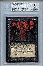 MTG Arabian Nights Sorceress Queen BGS 8.0 NM-MT card Magic Gathering 7774