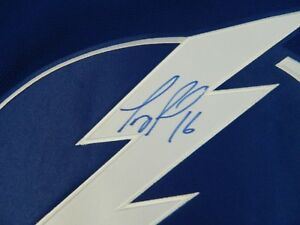 TEDDY PURCELL AUTOGRAPHED BLUE REEBOK JERSEY