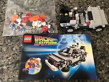 Lego The DeLorean Time Machine (21103) - Back to the Future - Mostly Complete