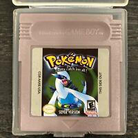 Pokemon Silver Version Game Boy Color GBC ***READ DESCRIPTION***