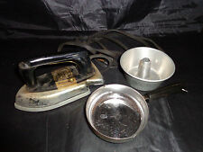 """Vintage Toy Electric Iron""""Sunny Suzy"""" Wolverine  304, Toy Kitchen Pans,1950s-60s"""
