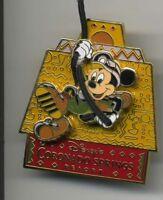 DISNEY CORONADO SPRINGS RESORT MICKEY MOUSE AS INDIANA JONES 3D PIN