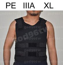 New PE Bullet Proof Vest/Jacket Body Armor NIJ Level IIIA 3A 38 Layers XL