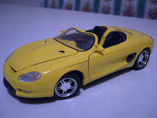 FORD  MUSTANG MACH III jaune CONCEPT CAR cabriolet 1/18 MAISTO voiture miniature