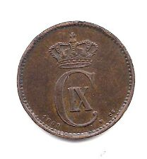1889  Denmark  Two Ore--Very Strong Details !!