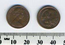 Australia 1976 - 1 Cent Bronze Coin - Feather-tailed Glider - Queen Elizabeth II