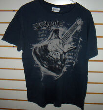 "AEROSMITH ""ROCK N' ROLLER COASTER""  GUITAR T-SHIRT   LARGE   FREE SHIPPING"
