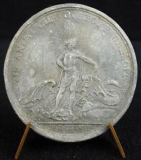 Médaille Apollon victorieux du monstre Python Louis XV d'ap Du Vivier 1718 medal