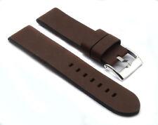 Vintage Style Echt Leder Uhrenarmband  18mm 20 mm  22mm 24mm 26mm Leather