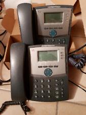 n.2 Telefoni professionali IP VOIP Cisco SPA 303 + alimentatore originale