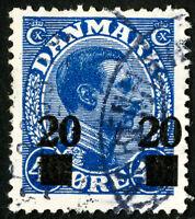 Denmark Stamps # 177 VF Used Scott Value $18.00