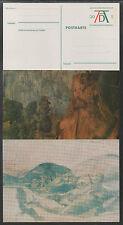 PEINTURE - ALBRECHT DURER / 1971 SERIE COMPLETE DE 5 ENTIERS POSTAUX (ref 5420)