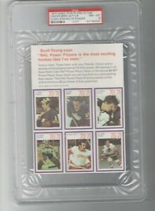 1970 Esso Power Players w/Tab PSA 8 Sittler Rookie Yr Cheevers Crozier 0 Higher