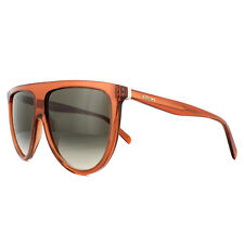 7fa9c8f845e3 Celine Sunglasses 41435s Thin Shadow EFB Z3 Dark Orange Brown Gradient