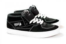 f885d40fe Vans Cab mediados de becerro (Suede) Negro Blanco Niños pequeños Sk8 tamaño  del zapato 4.5
