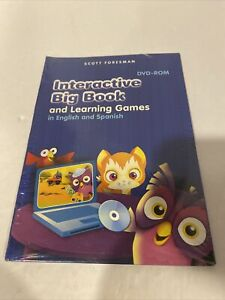 Interactive Big Book And Learning Games DVD-ROM, In English And Spanish
