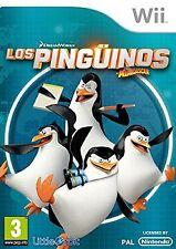 Wii Pingüinos De Madagascar Nuevo Precintado Pal España