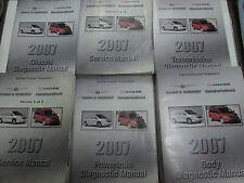 2007 DODGE CARAVAN CHRYSLER TOWN & COUNTRY Service Shop Repair Manual Set OEM